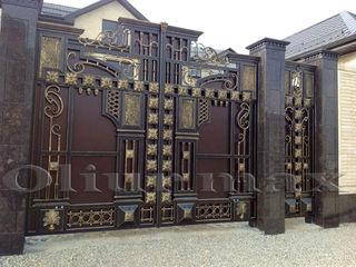 Перила, ворота, козырьки, заборы, решётки, металлические двери ,дешево и качественно.