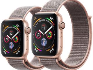 Apple watch series 4, 40mm, gold, black. garantie!
