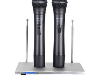 2 microfoane wireless! Takstar TS-3310HP! Noi!