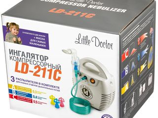 Ингалятор ld 211c little doctor inhalator ld 211c little doctor garantie 5 ani