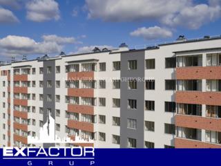 Exfactor Grup - Buiucani, 3 camere 95 m2 et. 3 de la 580 € m2 prețul 55.000 € cu prima rată 16.500 €