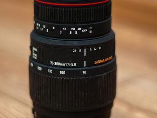 Sigma Apo DG 70-300 mm 1:4-5.6  Macro for Nikon