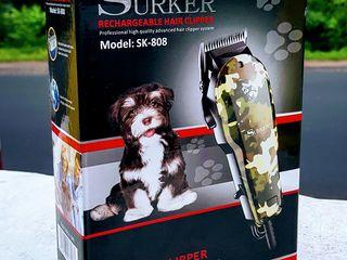 Бесплатная доставка! Машинка для стрижки кошек и собак. Новая. 390 лей. Смотрите видео!