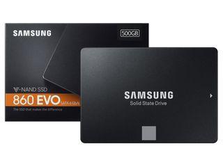 SSD Samsung 860 Evo 500/1000Gb, nou, новый