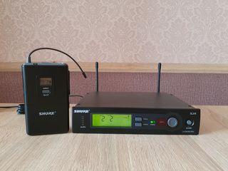 Shure SLX14 microfon wireless  pentru instrument. Original. Frecvente bune (638-662MHz)