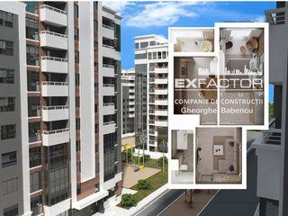 Exfactor Buiucani toate planificările cu 1 cameră in rate direct de la compania de construcții.