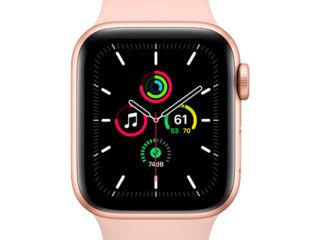 Apple Watch SE 44mm, Gold / Pink Sand