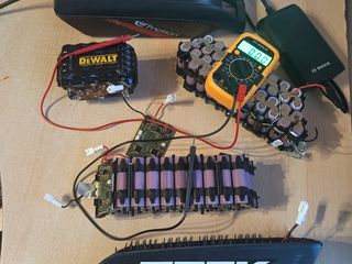 Ремонт  аккумуляторных батарей .