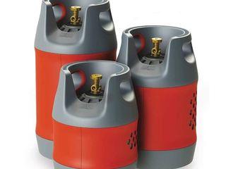 Газовые баллоны «легкие, взрывобезопасные», butelii de gaz din compozit