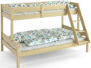 Двухъярусная кровать - элегантный дизайн и функциональность.