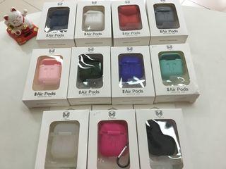 Apple Airpods силиконовые чехлы Airpods 99 лей.   А так же   Phone House-Бронированная защитная