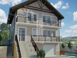 or. Codru, casa noua cu 3 etaje, teren 6 ari