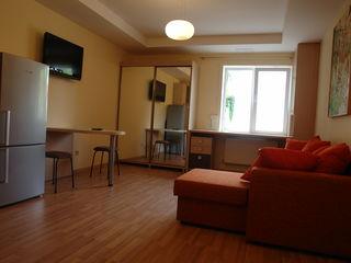 Однокомнатная дизайнерская квартира в центре города.