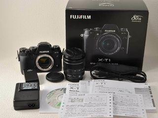 Fujifilm x-t 1+Fujinon 18-55vr f2.8-4.0 in stare idiala.