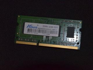 DDR3 (A-Sint) Hyunix 2gb , DDR3L- Samsung 4gb