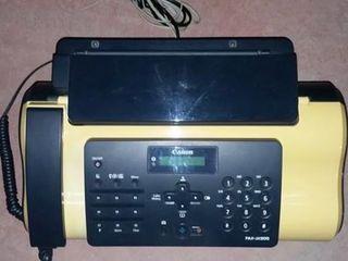canon fax telefon