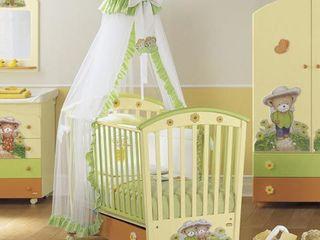 Люльки, кроватки, детские комоды, столы для пеленания, ящики для игрушек и многое другое!