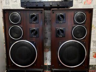 Радиотехника s-90 +усилитель sansui au-x301