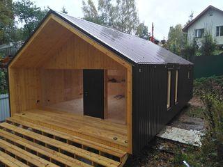 Новый дом-дача в современном стиле
