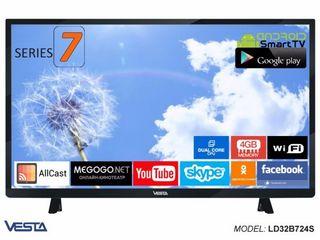 Новая модель Vesta Smart TV Vesta LD32D745S/IPTV Android 7.0+IPTV