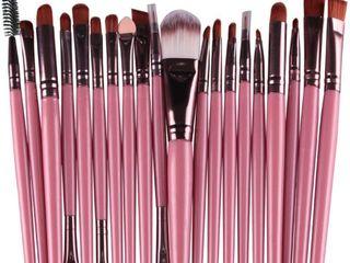 Синтетический набор кистей для макияжа (20 штук).