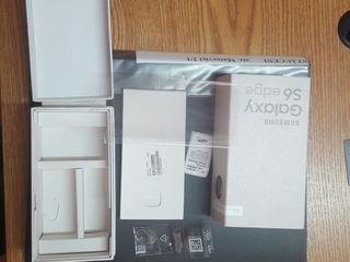 Упаковка с документацией от Sumsung Galaxy s6 edge -150лей