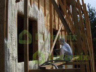 Выполним утепление и шумоизоляцию стен, кровли, фасадов, фундаментов, полов