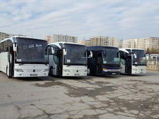 Italia-Moldova-Italia, Transport pasageri. Milano Asti Novara Torino Parma Piacenza Ferrara Bologna