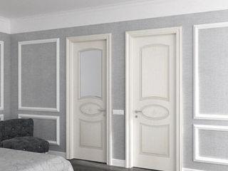 Белые межкомнатные двери из МДФ! Любой дизайн и размер!!!