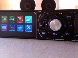"""Автомагнитолы с видеоэкраном 4"""",  Bluetooth."""