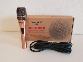 Отличный подарок! Качественный микрофон! Длинный провод! Новый. Всего лишь 450 лей