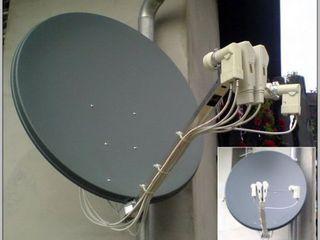 Antene parabolice vinzare, instalare, reparare, adaugare canale noi, спутниковые антенны