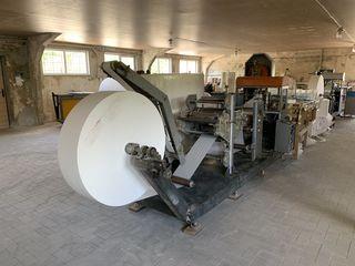 станок для производства салфеток 24x24