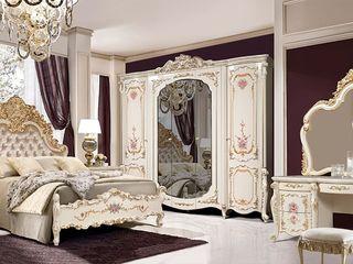 Dormitor Slonimmebel Afina 5D 1.8 m Cream Gold Livrare gratuita toată Moldova!