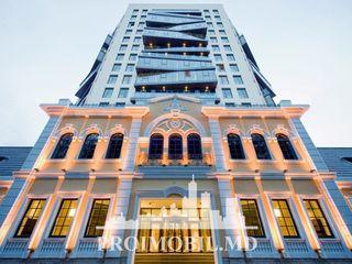 Centru! crown plaza, 1 cameră + living, privelește spre parc - 68 mp!
