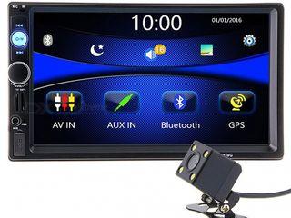 Magnitola 7010g 2din ecran tactil 7inch gps europe + sd card 8gb cadou. credit!