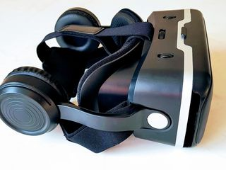 Ochelari 3D virtuali Shinecon. Cu căști. Noi (în cutie). 490 lei. Priviți video!