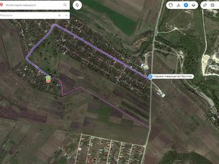 Дача приватизированная 12 соток 450 евро сотка ! - 9 км от Кишинева от бул Траян 19/1.
