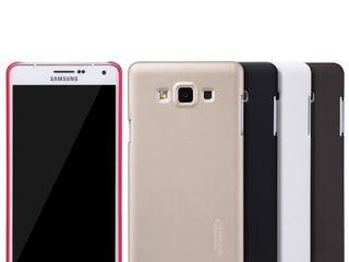 Samsung Galaxy A7 чехол Nillkin Frosted Shield, защитная плёнка