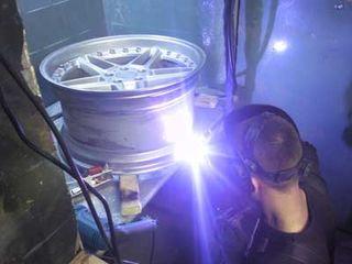 Аргонная сварка, ремонт литых дисков (телецентр , ул.гренобля )