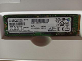 Samsung 256GB  M.2