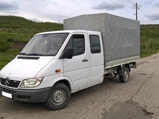Грузоперевозки по Кишинёву и Молдове до 2 тонн Sprinter 311