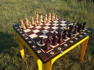 Tabla de șah, lucru manual!