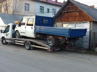 Servicii evacuare auto Chisinau.