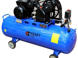 Compresor de aer KraftTool KT100L2C  - Pret redus - 7499 Lei