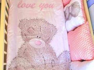 Бортики на кроватку для новорожденных / Lingerie de pat pentru nou nascuti