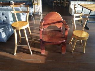 Стулья из дуба для ресторана террасы дачи