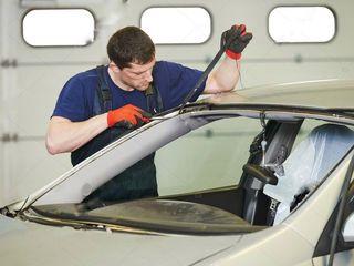 Автостёкла parbrize установка instalare