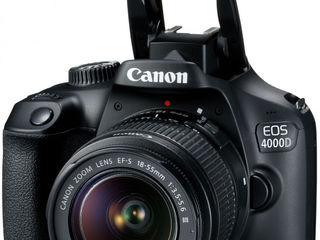 Canon EOS 4000D Kit EF-S 18-55mm DC III; Canon  EOS 350D Kit