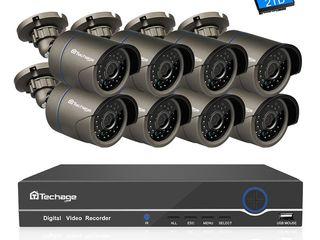 Sistem de supraveghere Video Techage 2.0 mp 1080p IP